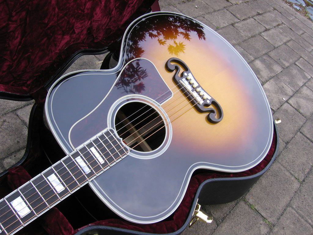 Wallpapers For Gibson Acoustic Guitar Wallpaper