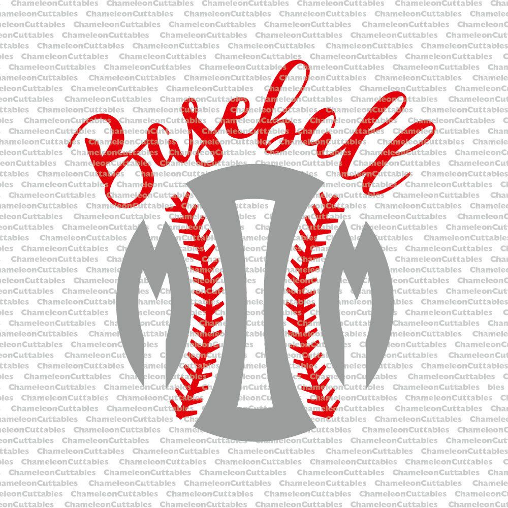 Baseball Mom Svg Cut File Sports Sport Silhouette