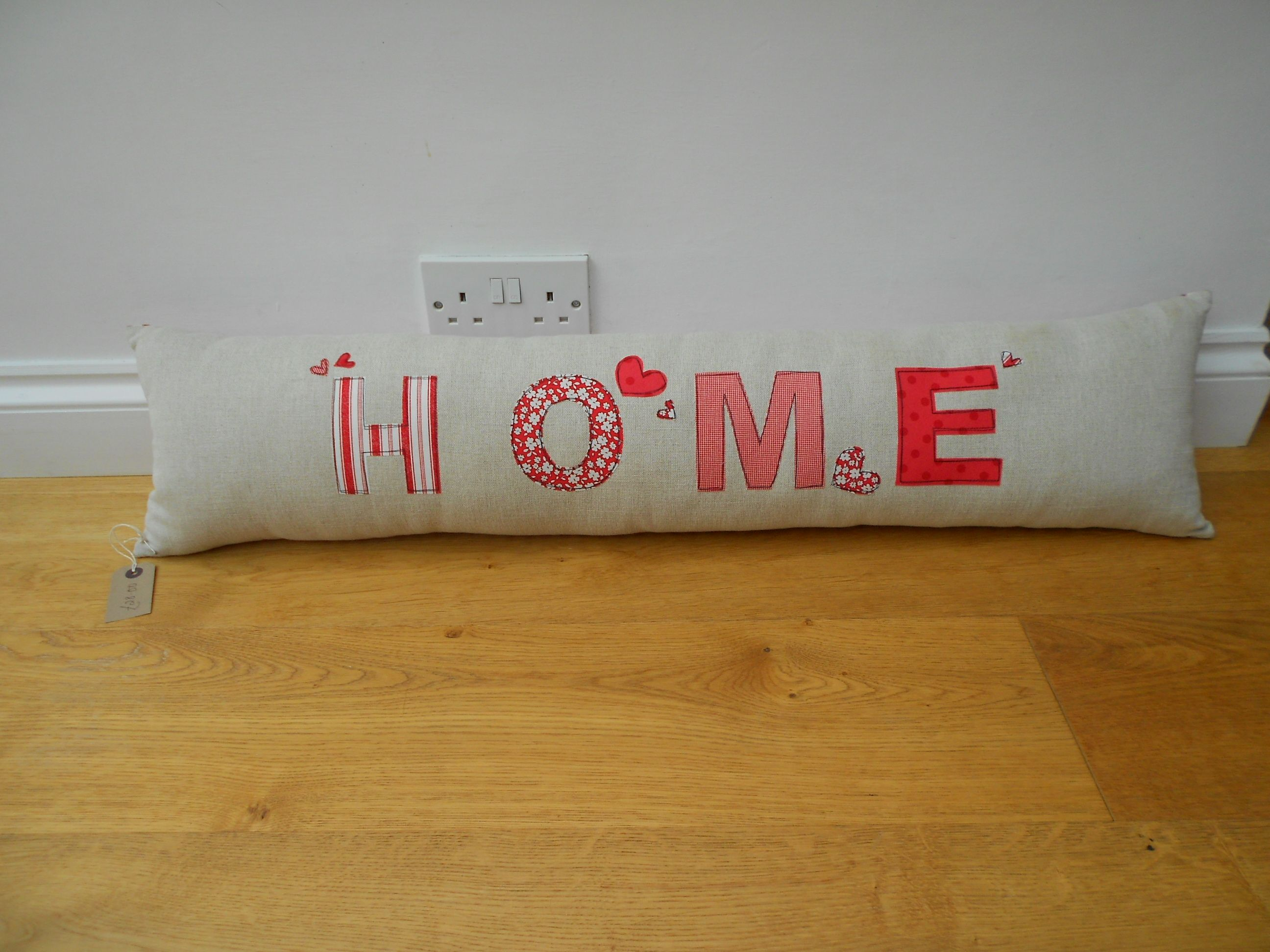 HOME\' Draught Excluder - Bolster Cushion £28 | Nähen ...