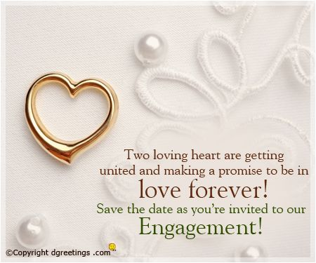 Engagement Invitation Projects to Try Pinterest Engagement - engagement invitation words