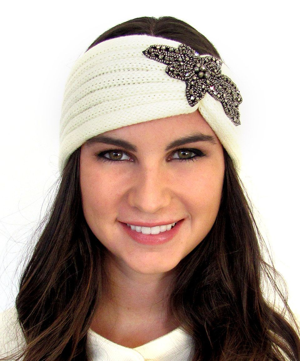 Look what I found on #zulily! SWAKCouture Winter White Beaded Head ...