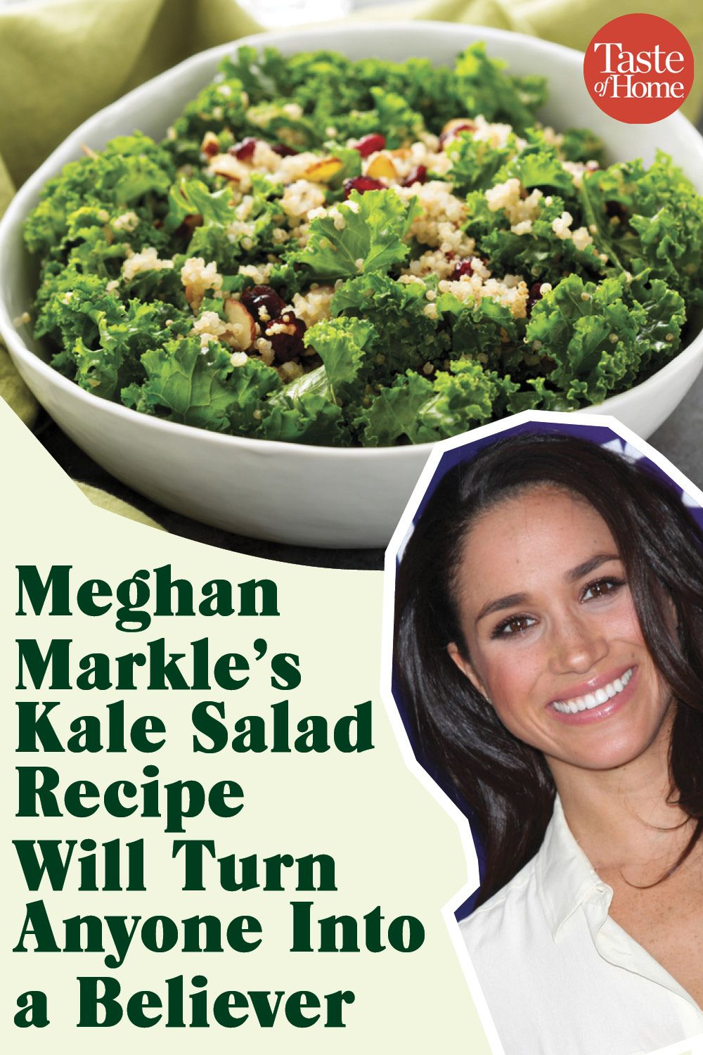 Meghan Markle's Kale Salad Recipe Will Turn Anyone
