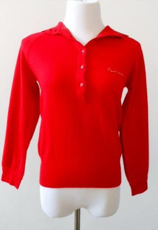 another chance cheap wide range Pierre Cardin Cashmere Sweater in Cardinal Red Mint ...