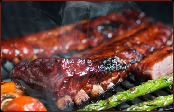 Simple smoked ribs traeger grill recipes traeger 39 s pork recipes pinterest grilling - Ribs on the grill recipe ...
