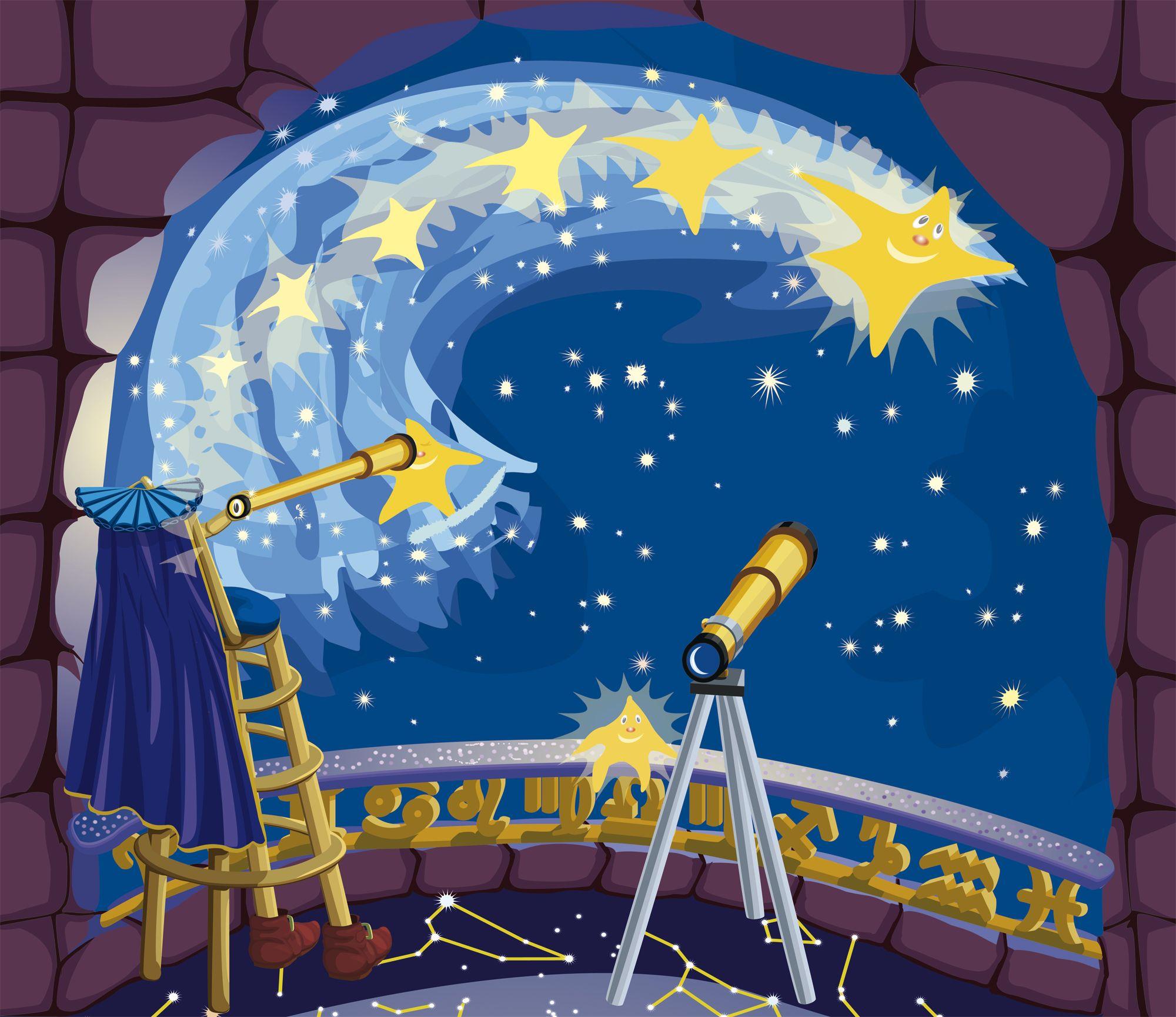 Картинки сказочных звездочетов