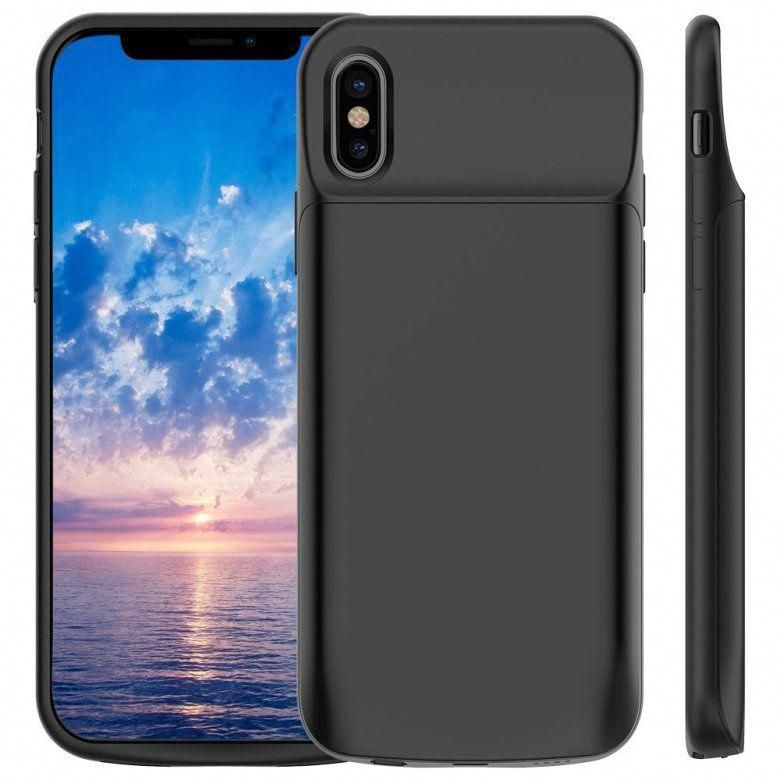 4000mAh Full Protective Battery Pack Power Case Black 150/% Extra Battery Pack Light-Weight Charging Case BioRing Battery Case Compatible with iPhone Xs Max