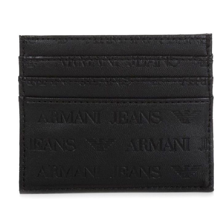 Armani Jeans Logo Card Case Wallet | Products | Pinterest | Logos ...