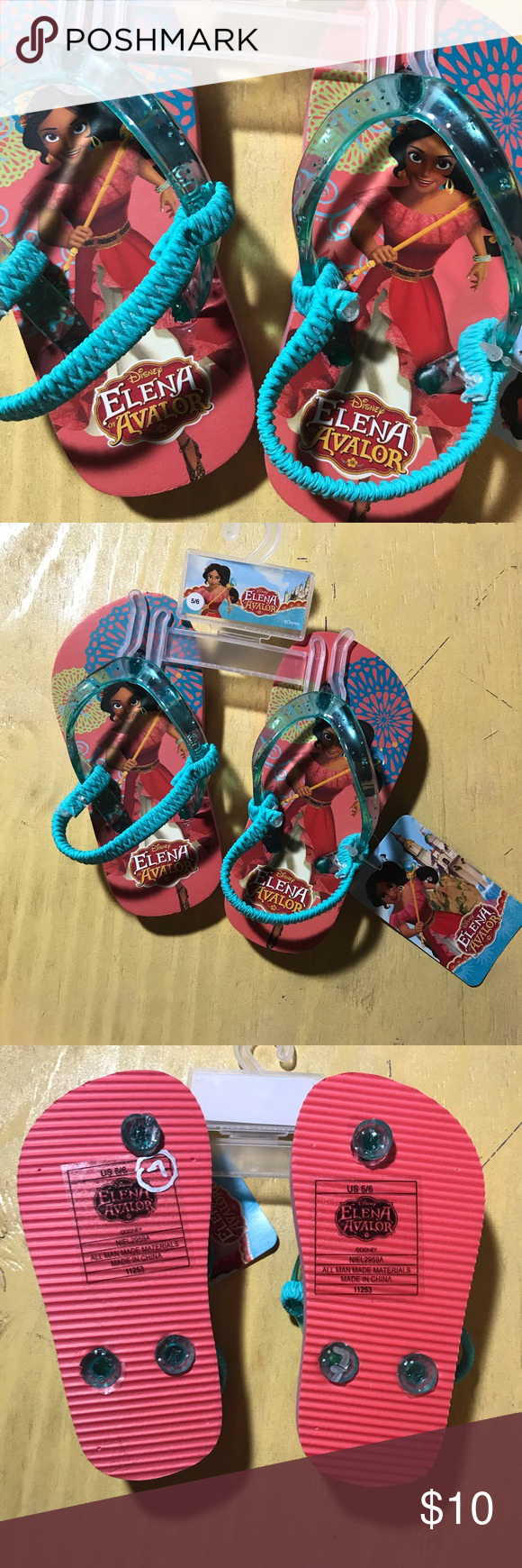 b73da9eca Disney Girl s Elena of Avalor Sandles New Elena of Avalor sandles Disney Shoes  Sandals   Flip Flops