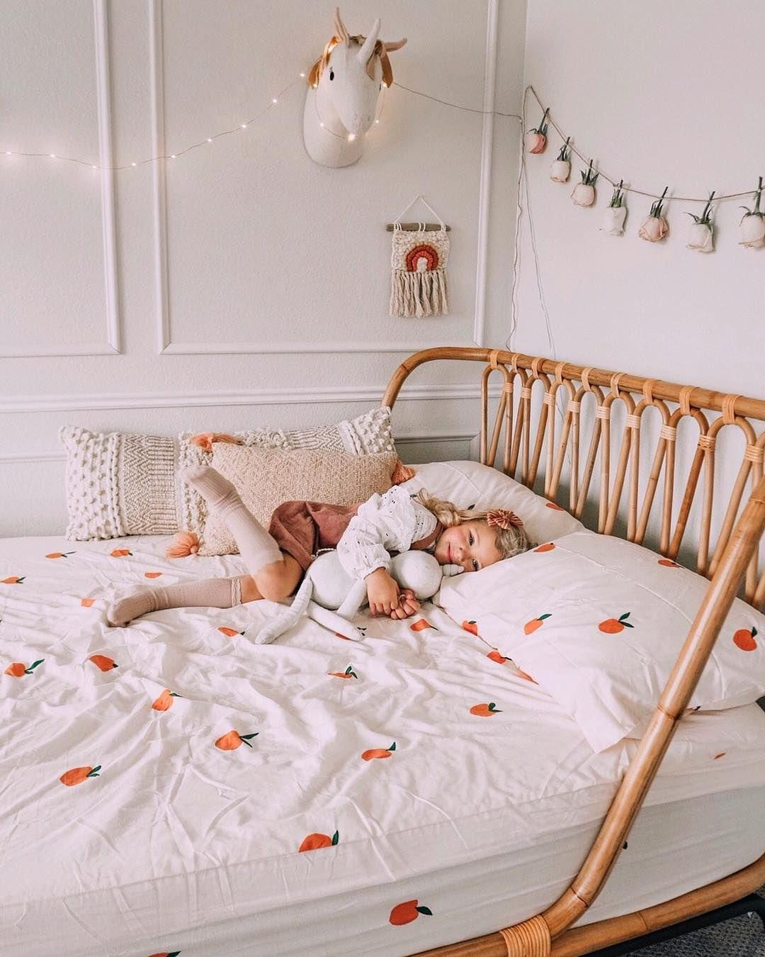 crate and kids beds on crate and kids on instagram our rattan bed is the ultimate statement piece oh and they ll love it too crate kid beds toddler bedrooms bedroom design rattan bed
