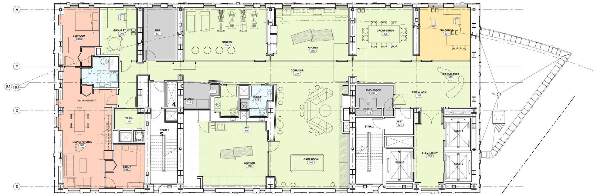 Galería - Massachusetts College of Art y del Diseño Residencia de Estudiantes con balcón / ADD Inc. - 17