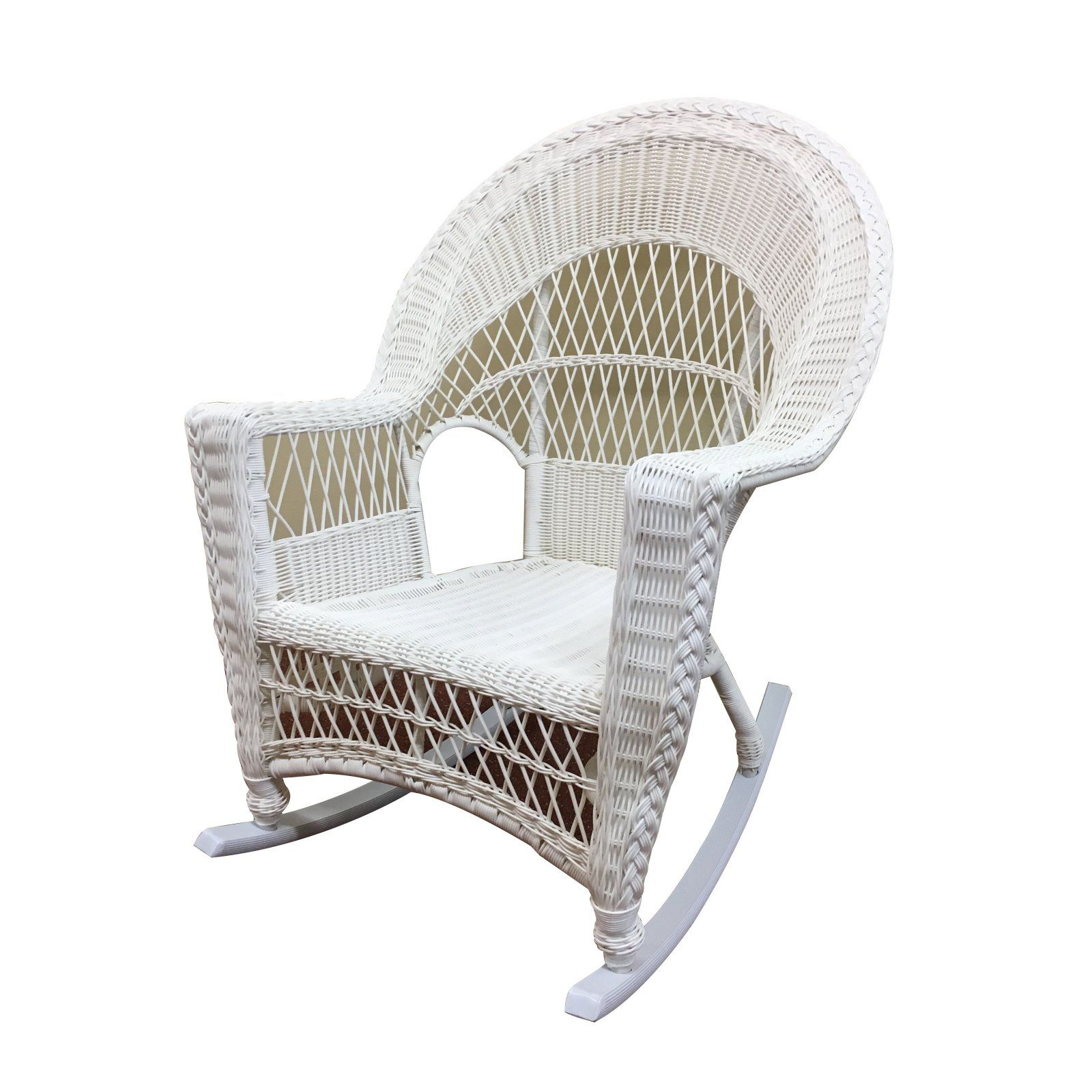Fantastic Outdoor Wicker Paradise Madison Wicker Patio Rocker With Inzonedesignstudio Interior Chair Design Inzonedesignstudiocom