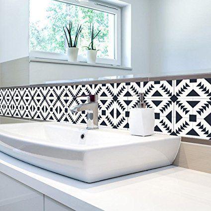 Momola 1 Roll Self Adhesive Waterproof Tile Art Wall Decal Sticker Diy Kitchen Bathroom Living Room Decor Vinyl Wallpaper Home Decorative Accessori