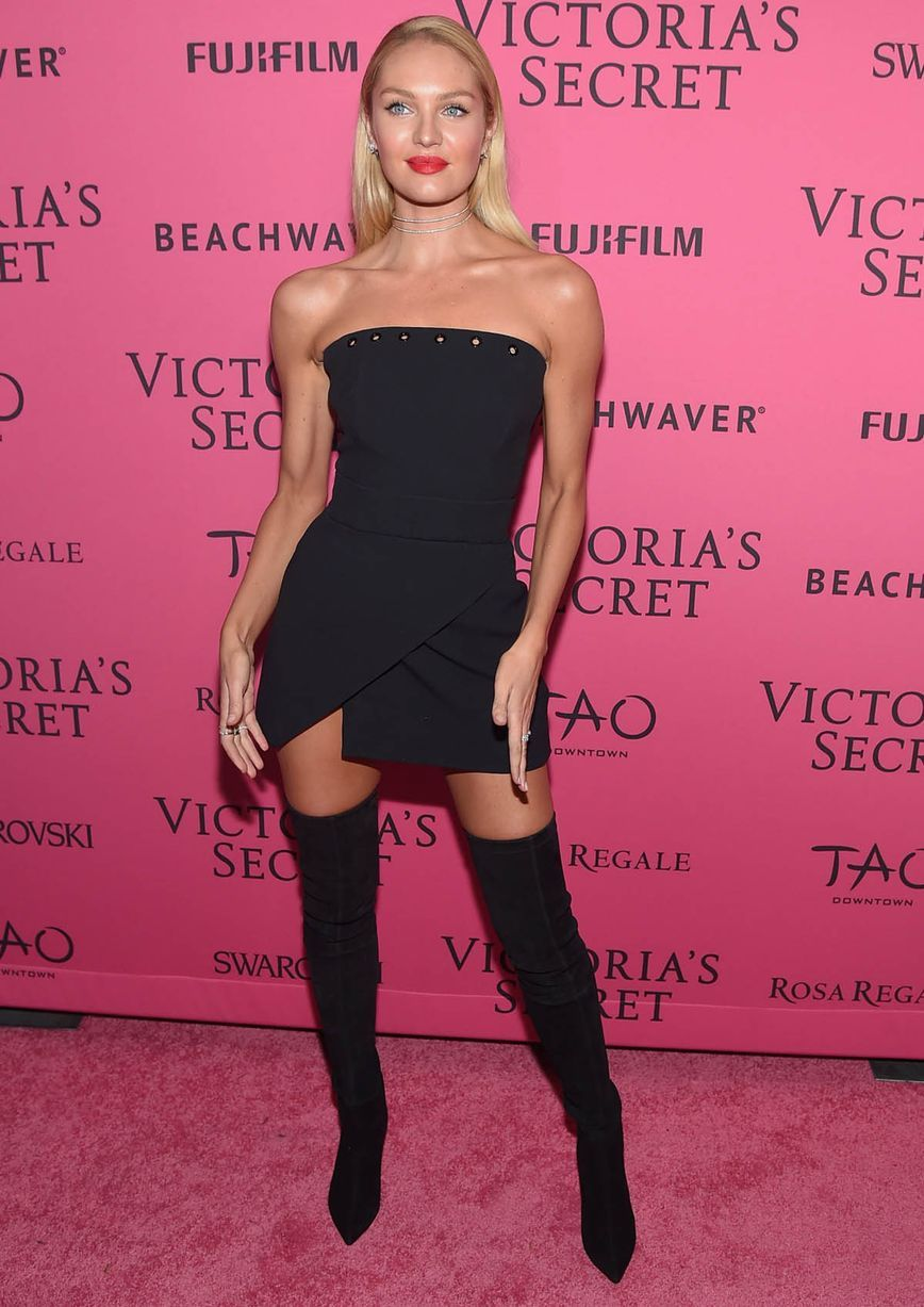 Kendall Jenner leads bevy of beauties at Victoria\'s Secret after ...