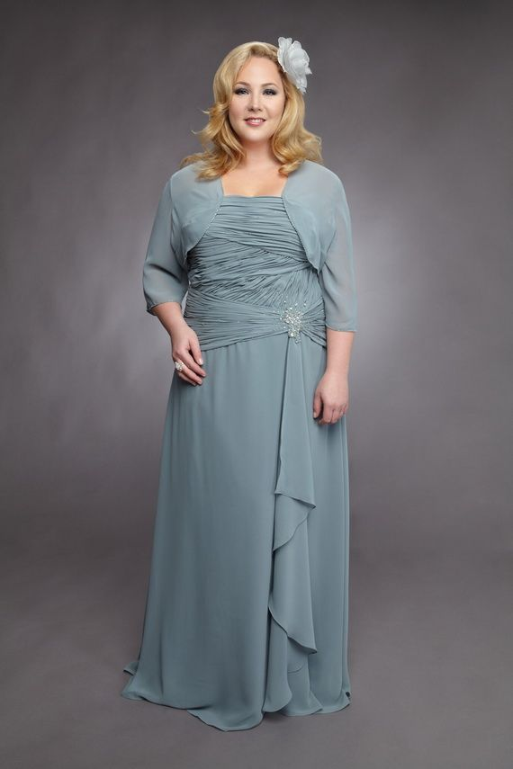 Plus Size Mother of The Bride Dresses  135aef01abc7