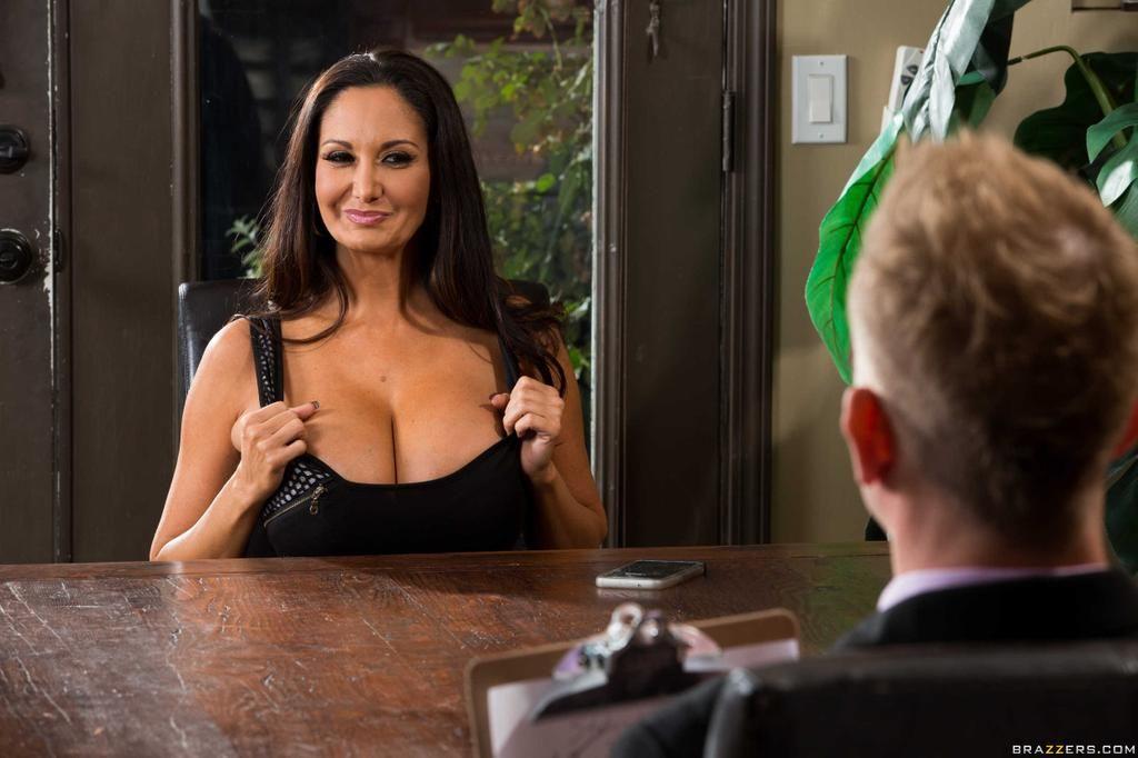 job interview porn