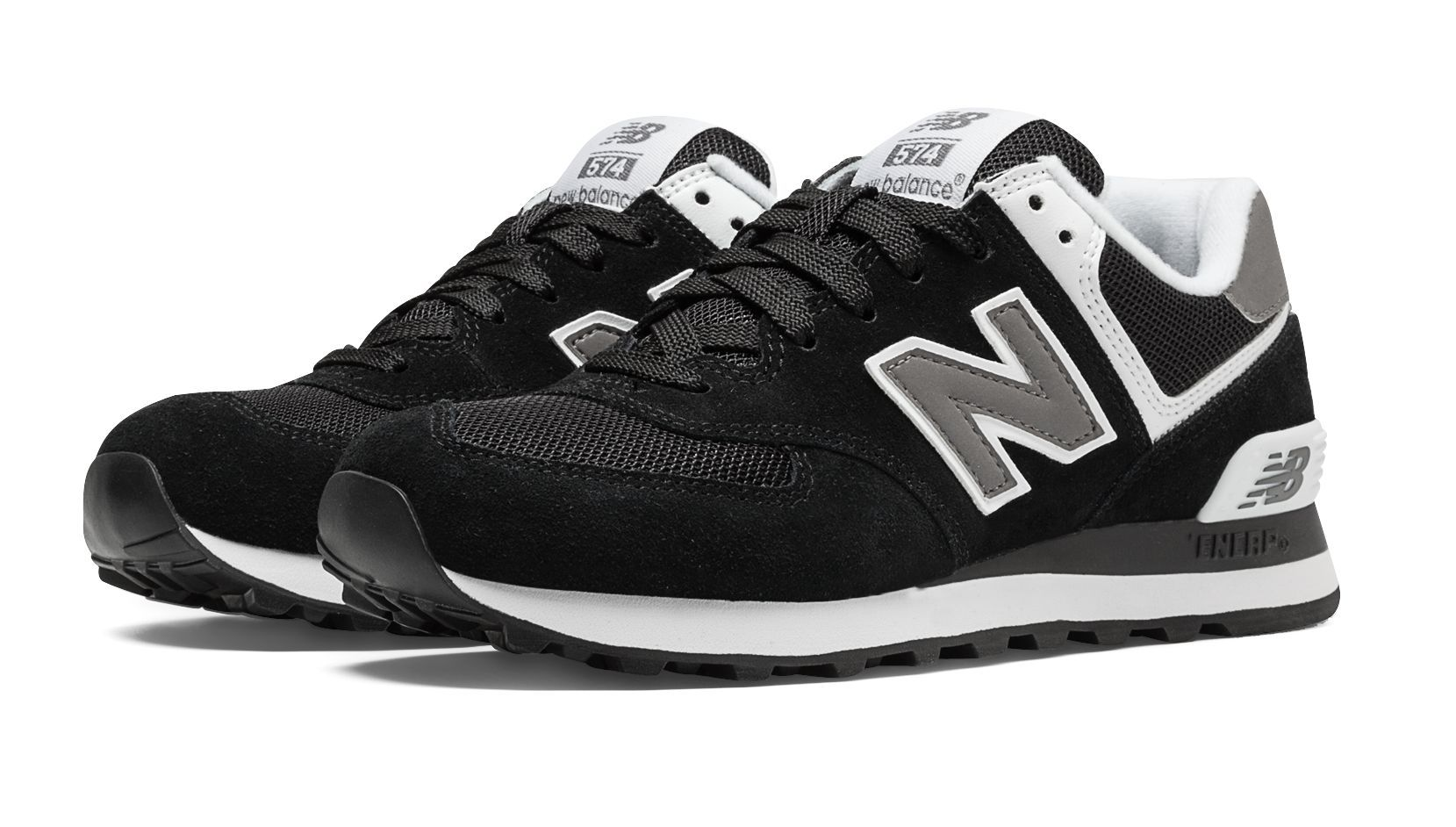 super popular e682e 38a00 574 Core, Black with White | Xmas in 2019 | New balance 574 ...