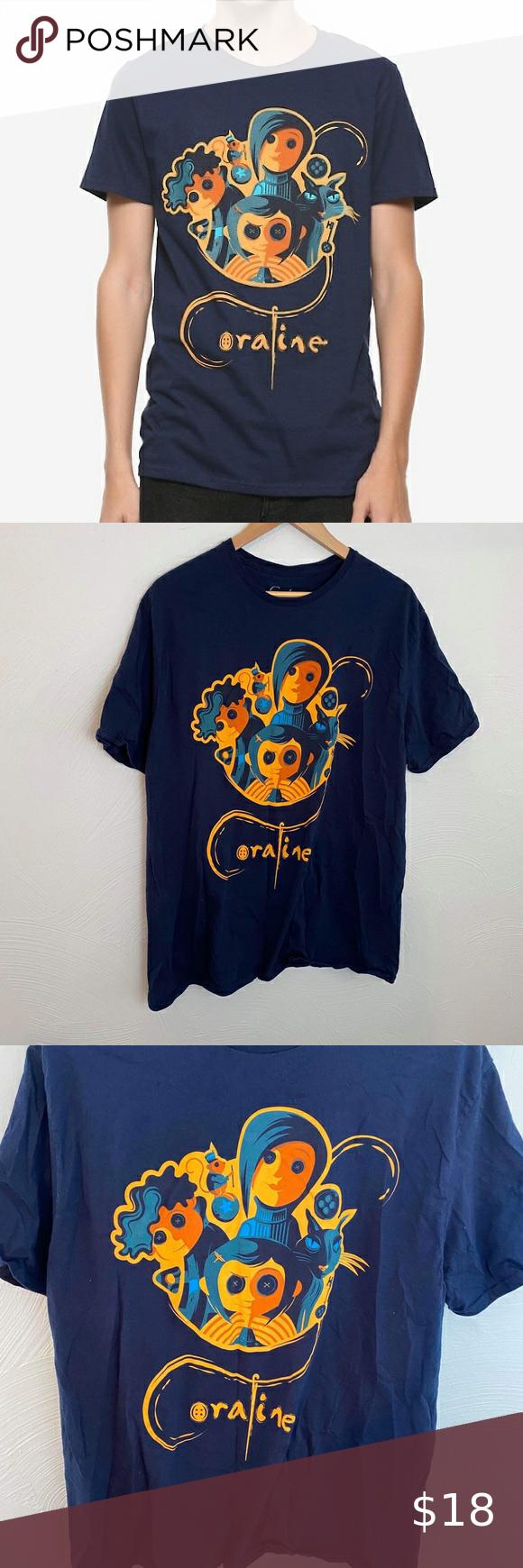 Coraline T Shirt In 2020 T Shirt Shirts Women Shopping