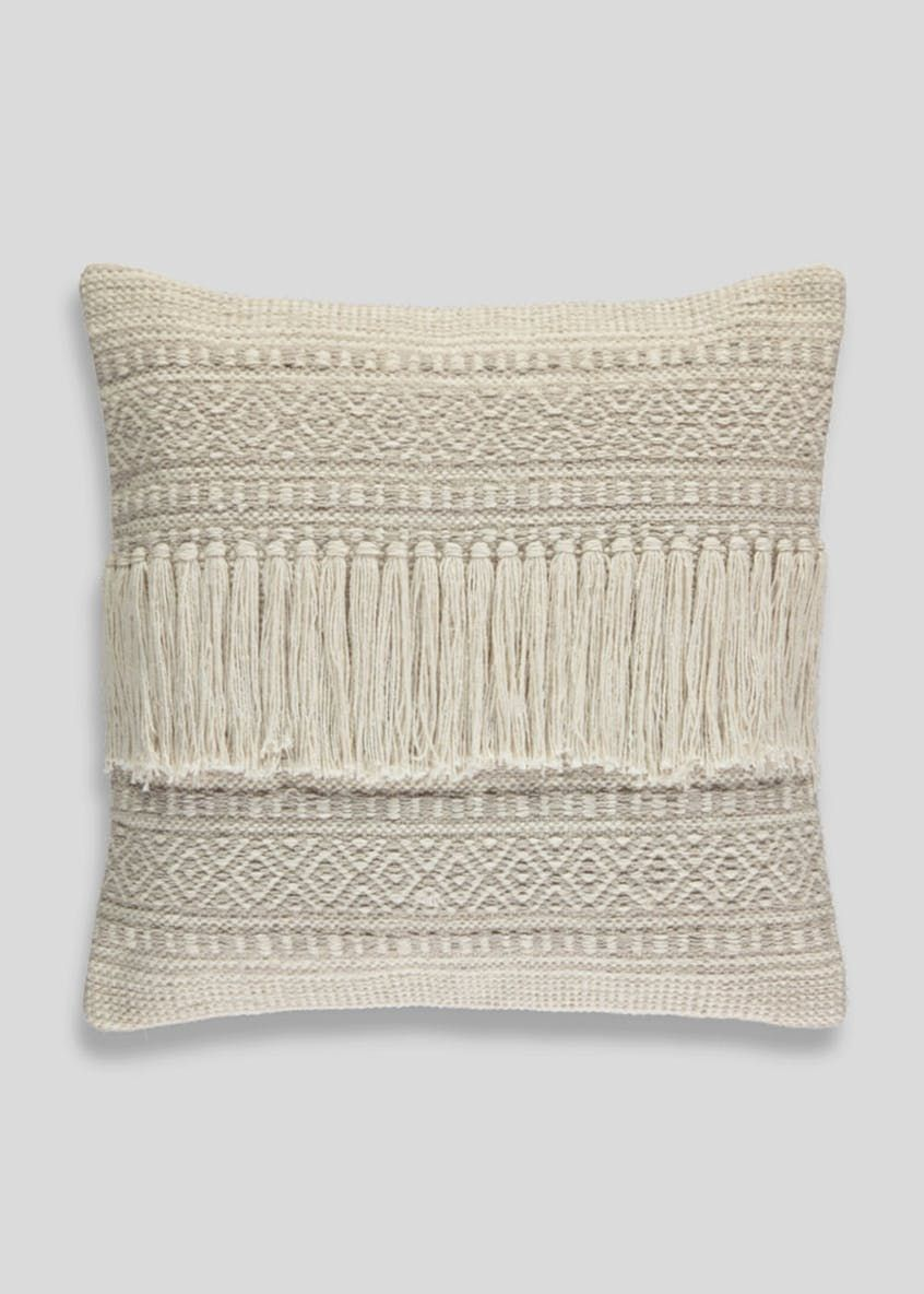 Fringed Cushion (48cm x 48cm) 51d0d46a8