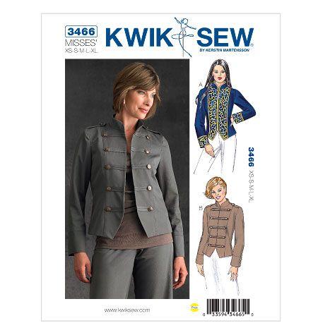 Kwik Sew 3466   Sewing pattern stash   Pinterest