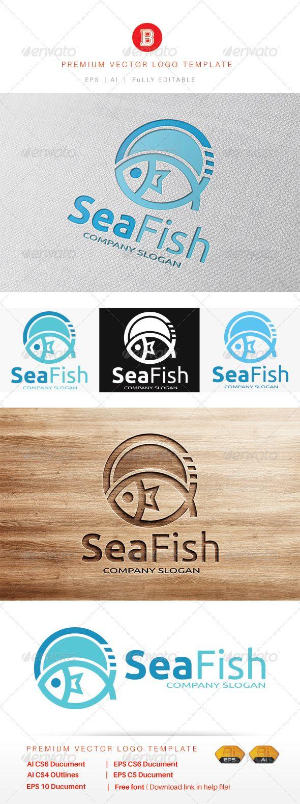 Sea Fish Fish logo