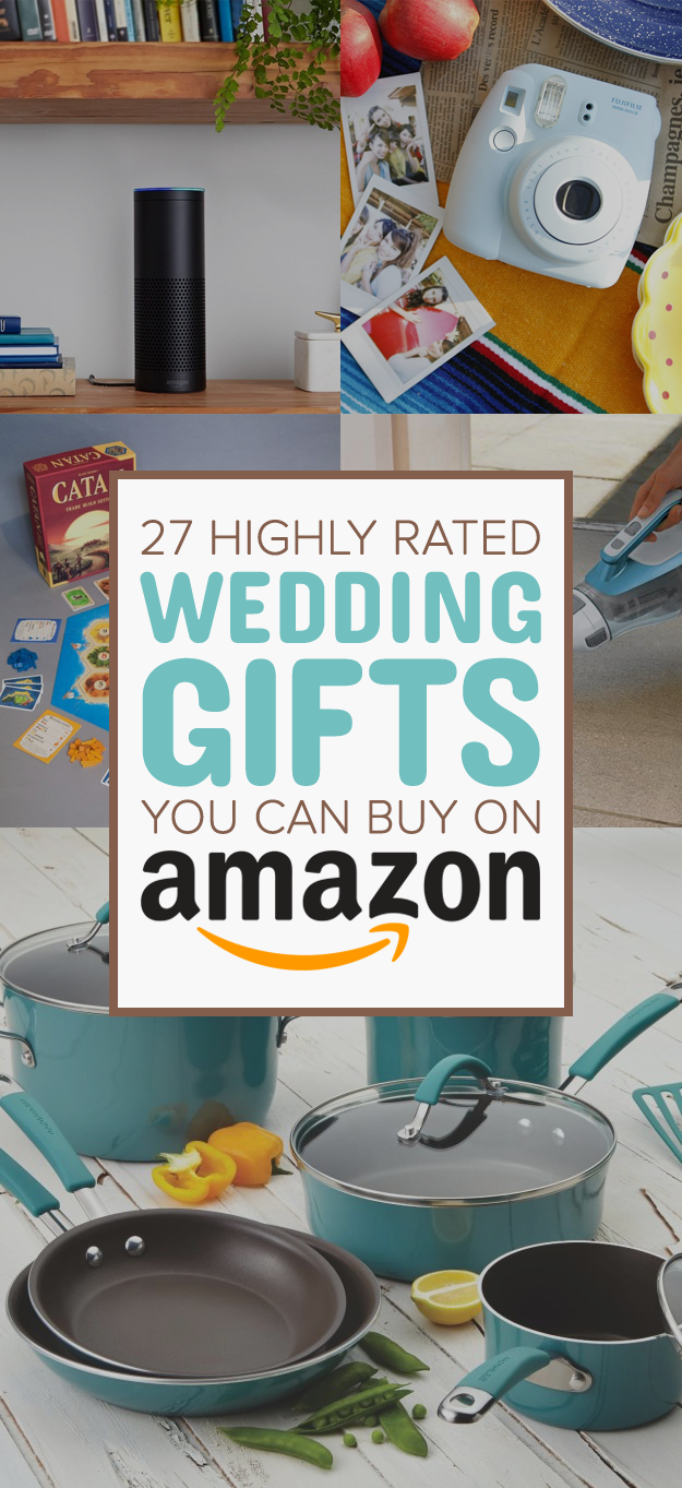 27 Of The Best Wedding Gifts You Can Get On Amazon Best Wedding Registry Diy Wedding Gifts Best Wedding Gifts