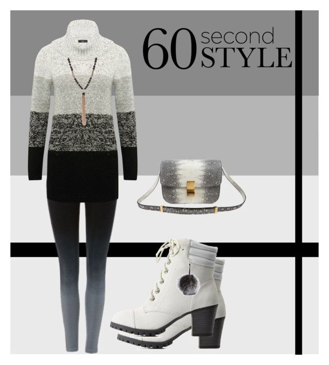 """""""60 Second Style: Ombre Effect"""" by rmhodgdon ❤ liked on Polyvore featuring M&Co, Bamboo, Adrienne Landau, New Directions, ombre and 60secondstyle"""