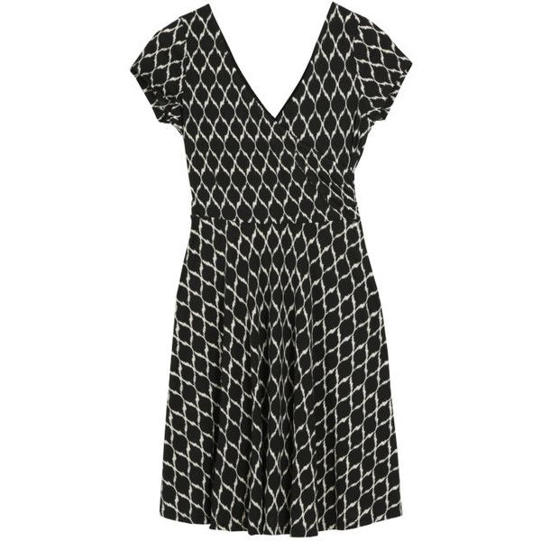 January 2015 - Wishing for a comfy casual dress for work and weekends. Love the length and print.