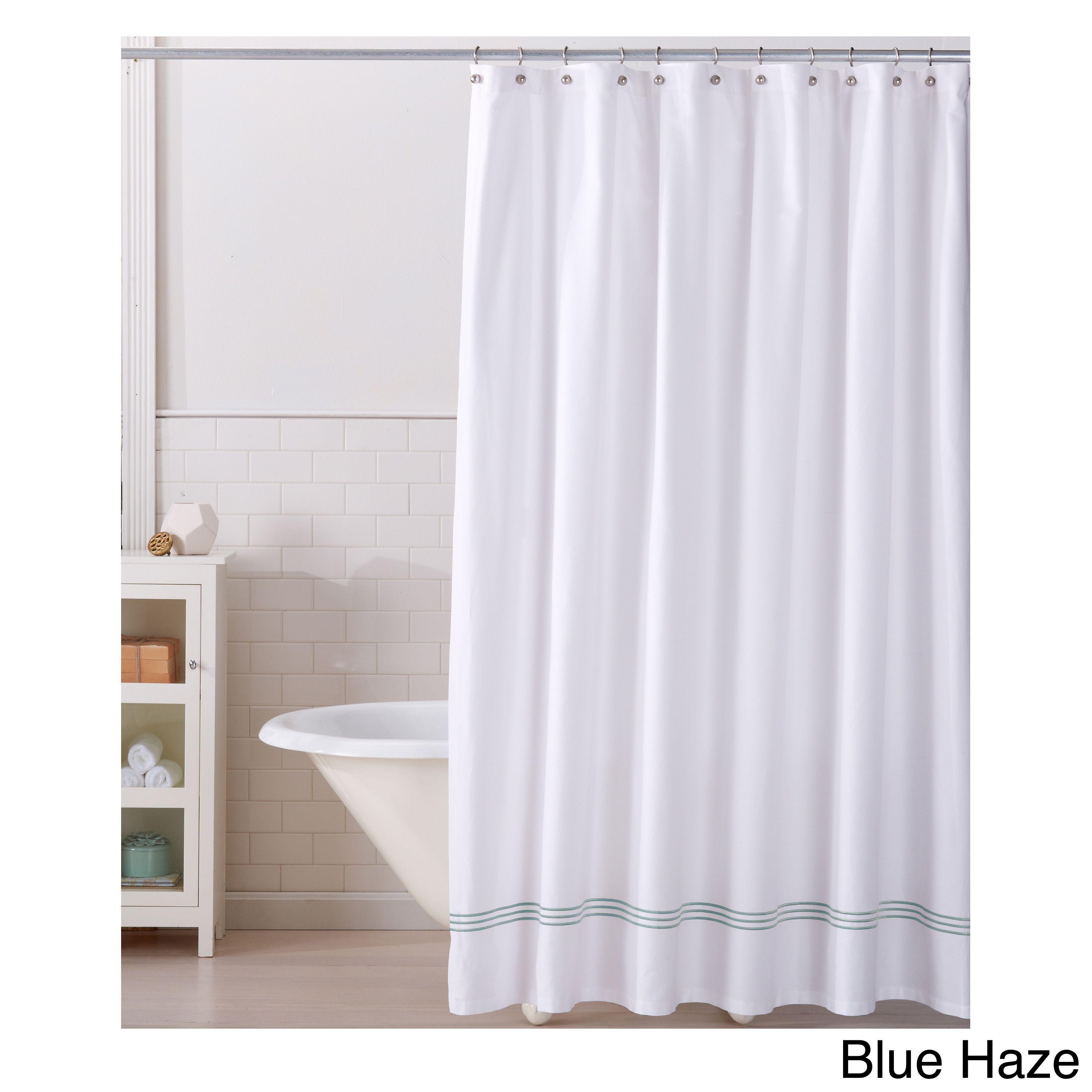 Home fashion designs aurora collection printed heavyweight shower