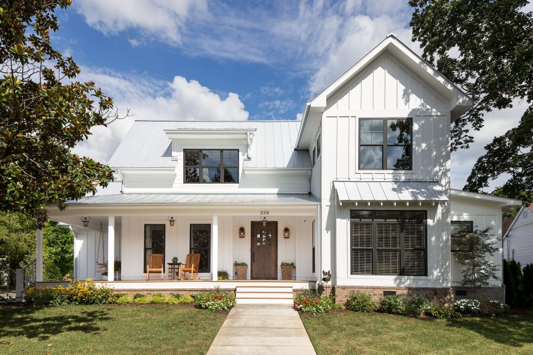 J taylor designs residential designs made in tennessee for Modern farmhouse cost to build