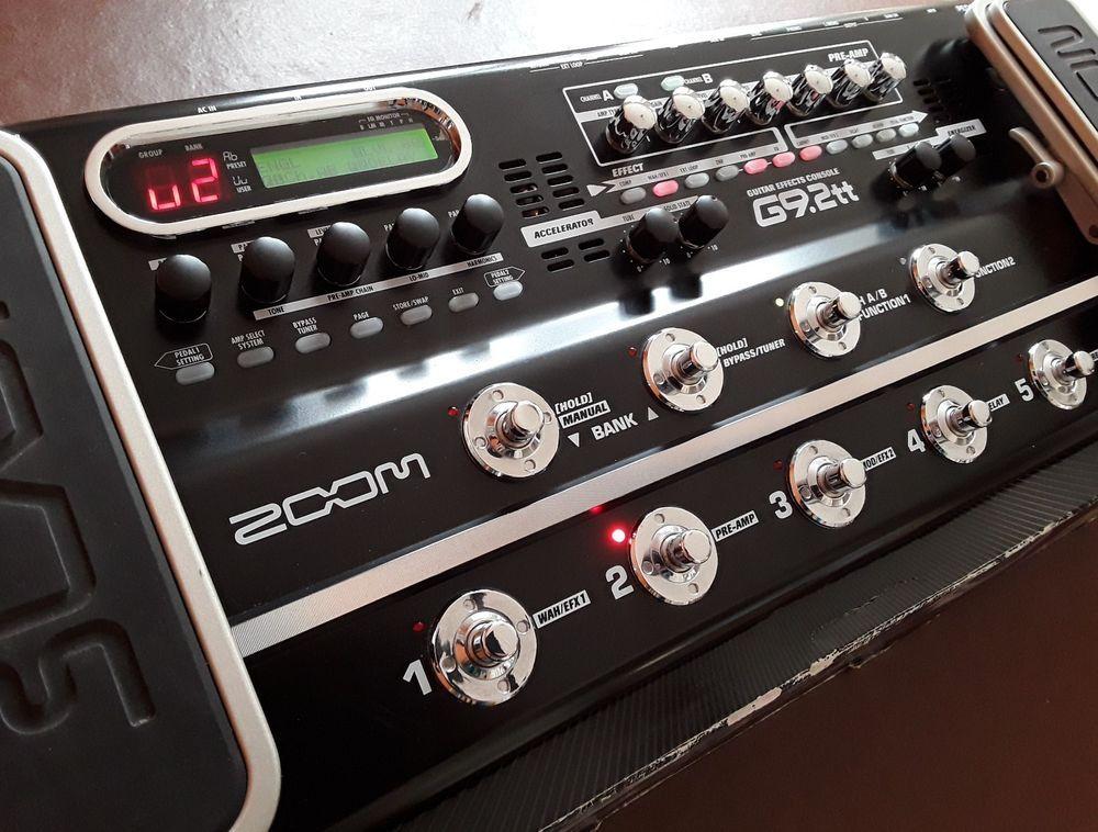 Zoom G9 2tt Guitar Effects Pedal Board Guitar Pedals Guitar Effects Guitar Effects Pedals