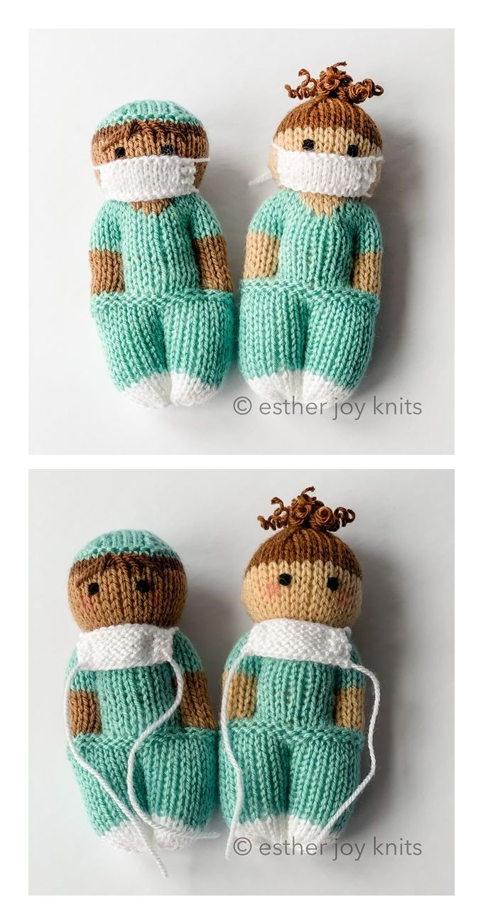 Nurse Mates Free Knitting Pattern