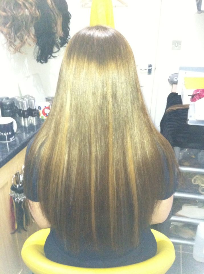 Beautiful Brown And Caramel Mix Hair Extensions Created By Tammy