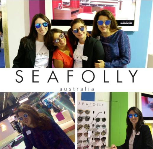 LUZ optique & audio au Silmo - 2016 - excLUZivité Seafolly