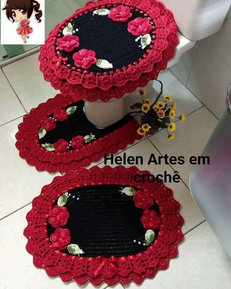 Video Aprenda A Fazer Croche Passo A Passo Agora Mesmo Clique Na Foto Jogos De Banheiro Croche Croche Para Banheiro Jogos De Croche