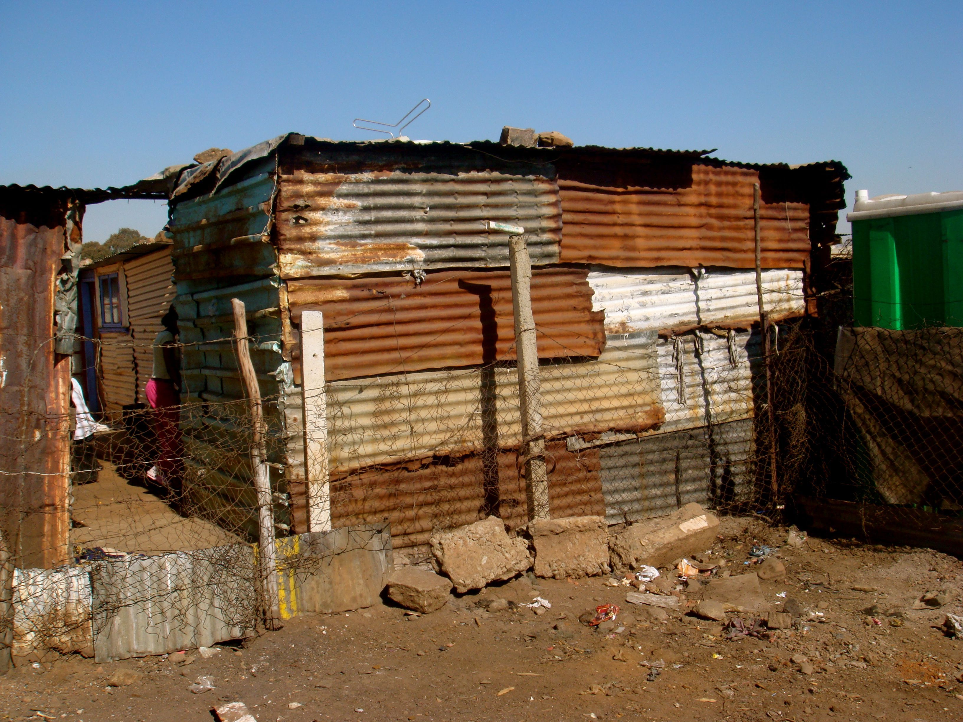 Backpacking in south africa johannesburg soweto township