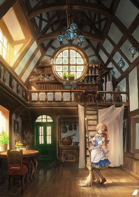 オリジナル 魔法使いの部屋 よー清水 3日目南ヤ 22bのイラスト