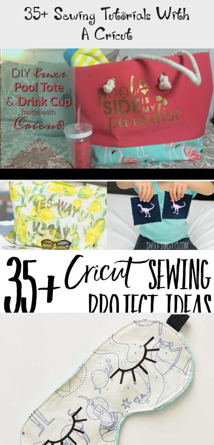 Cricuts arent just for paper crafts check out how you can use your Cricut with fabric Lots of sewing tutorials and inspiration for using your Cricut to embellish and crea...