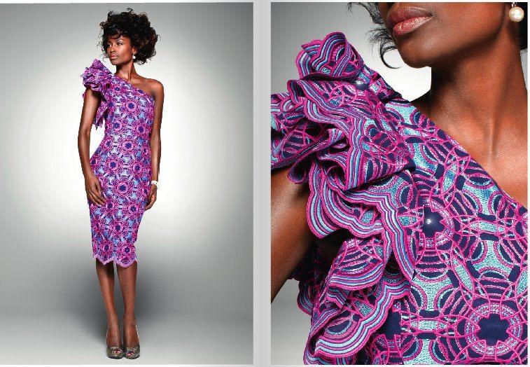 robe wax pagne purple violet cort ge et mariage afro pinterest pagne robe et mode africaine. Black Bedroom Furniture Sets. Home Design Ideas