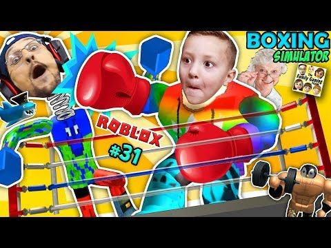 Roblox Giant Granny Muscle Freak Vs Fgteev Boxing - roblox vids simulators
