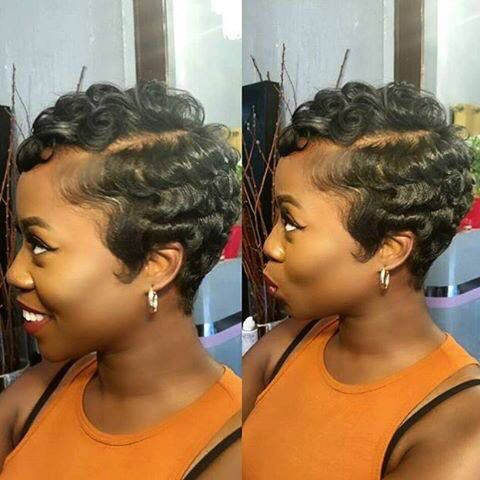 Up To Date Finger Wave Short Hair Styles Natural Hair Styles Hair Styles