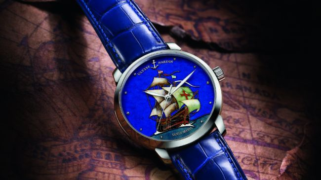 Ulysse Nardin rend hommage au navire Santa Maria de Christophe Colomb  http://tinyurl.com/73yxmw5