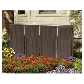 4 ft. H x 3 ft. W Wilmington Privacy Screen