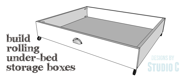 Easy To Build Storage For A Bedroom Diy Storage Bed Under Bed