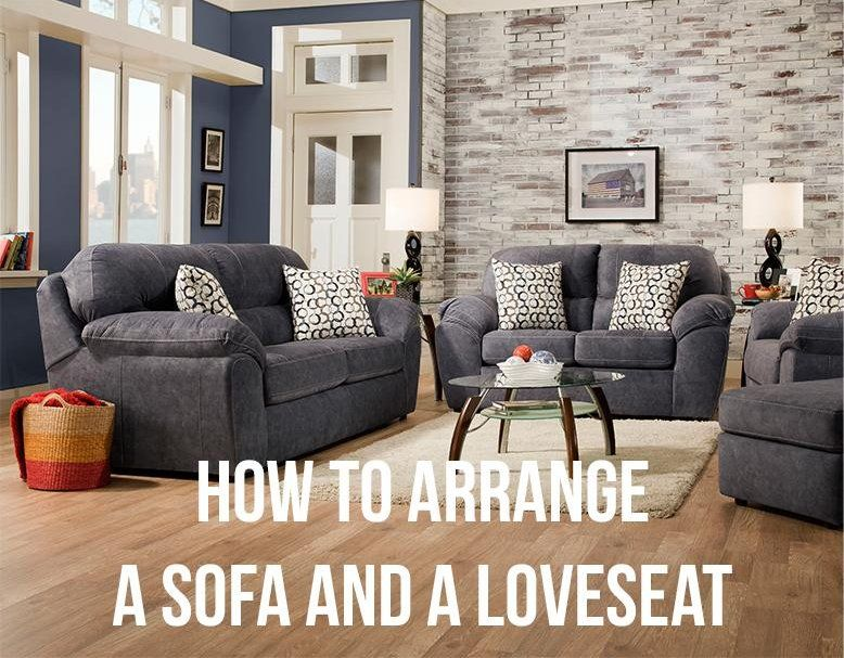 How To Arrange A Sofa And A Loveseat Rc Willey Blog Couch And Loveseat Couch And Loveseat Set Family Room Sofa