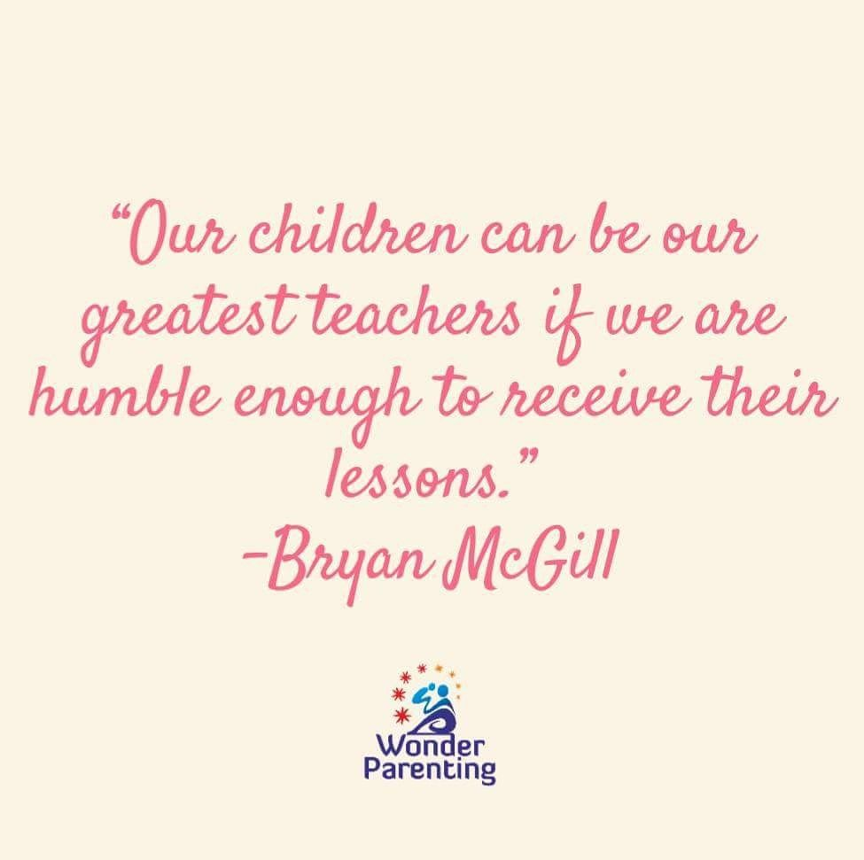 Image result for be humble enough to learn from children