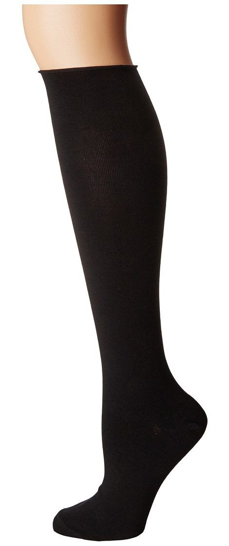 Socksmith Solid Knee High (Black) Women's Knee High Socks Shoes - Socksmith, Solid Knee High, BKH100 BLACK, Footwear Socks Knee High, Knee High, Socks, Footwear, Shoes, Gift - Outfit Ideas And Street Style 2017