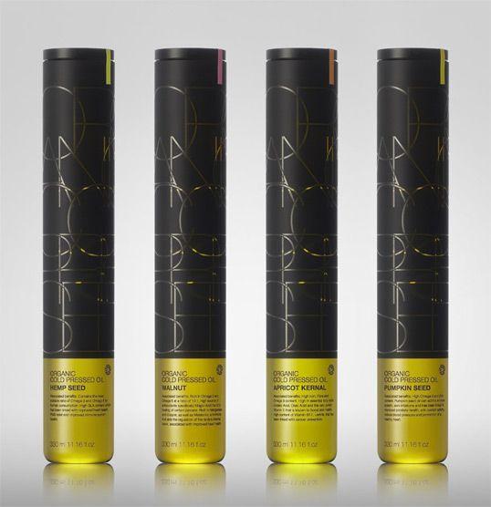 Evolve, cold pressed oils packaging - SabotagePKG