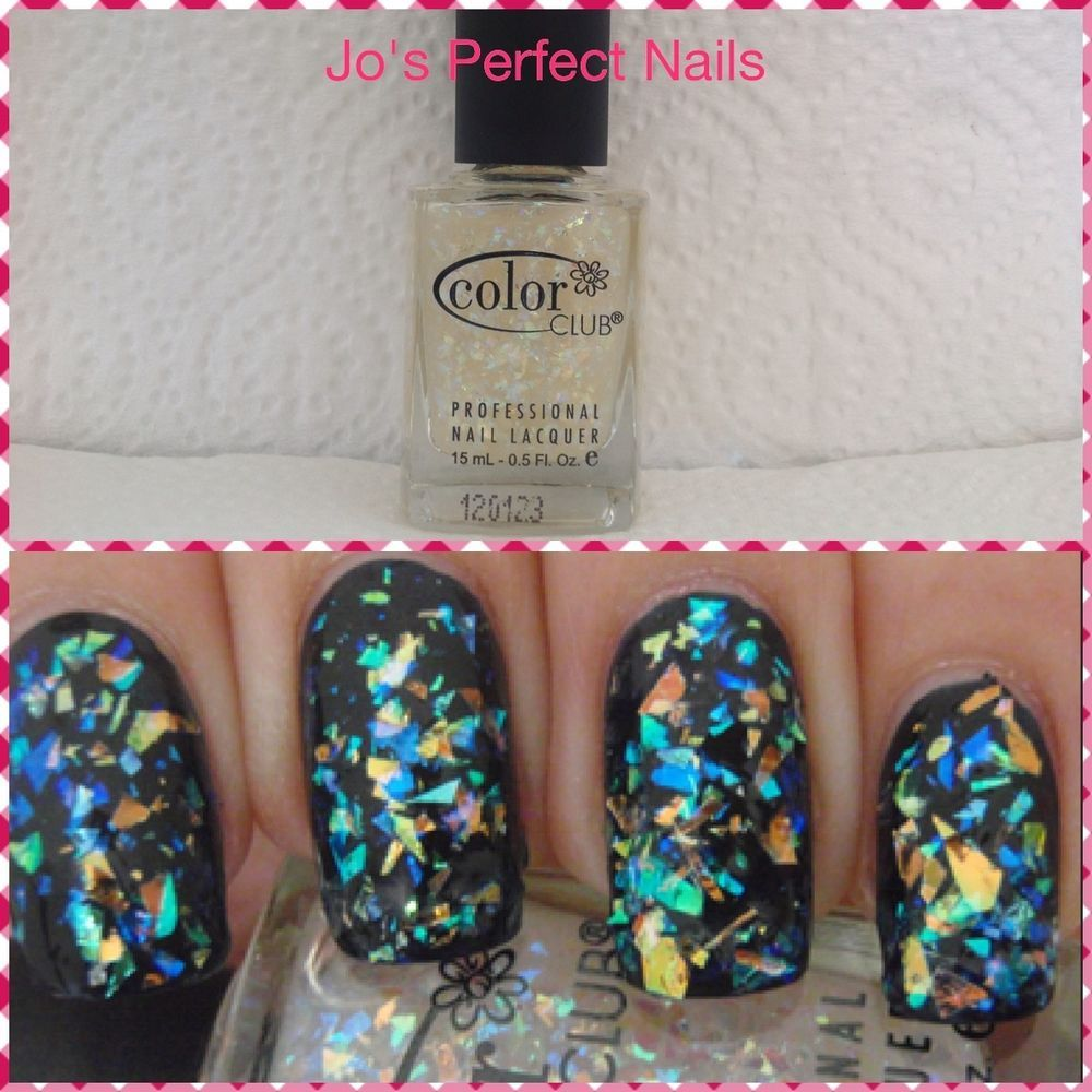 Color Club Nail Polish - ☆Covered In Diamonds ☆ Holographic ...