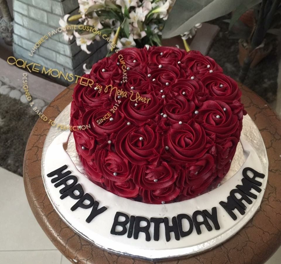 23 Inspiration Image Of Red Velvet Birthday Cake In 2020 Red