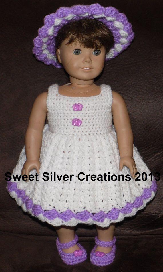 18 inch American Girl Crochet Pattern von SweetSilverCreations | DIY ...